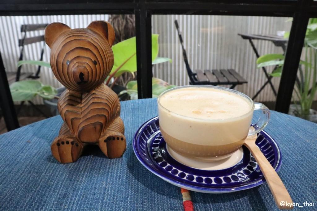 タマダーのカフェラテ